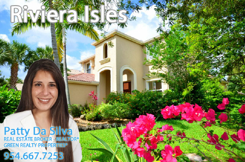 Patty Da Silva, Riviera Isles, Miramar Homes For Sale