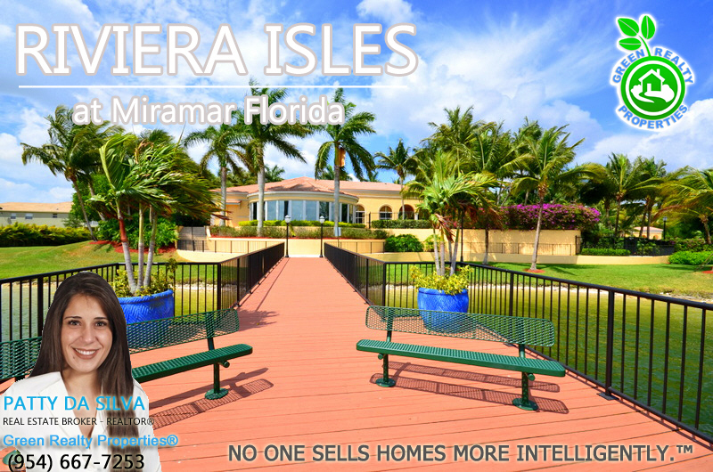 Patty Da Silva - Green Realty Properties - Riviera Isles Miramar